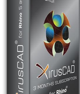 Xiruscad 3-Monats Lizenz